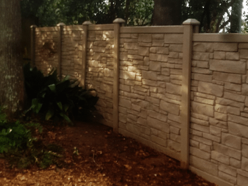 Get your Ecostone fence today!!